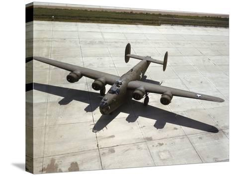 Consolidated's B-24 Bomber-Dmitri Kessel-Stretched Canvas Print