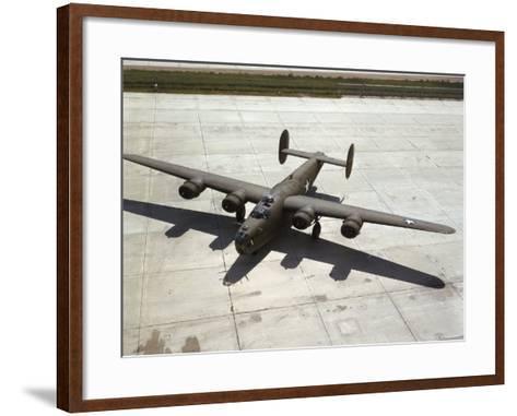 Consolidated's B-24 Bomber-Dmitri Kessel-Framed Art Print