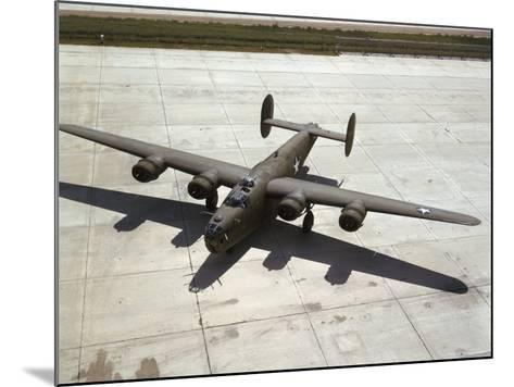 Consolidated's B-24 Bomber-Dmitri Kessel-Mounted Photographic Print