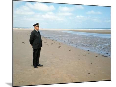 Visiting Normandy For 25th Anniversary D-Day Celebrations is Retired American General Omar Bradley-Bill Ray-Mounted Photographic Print
