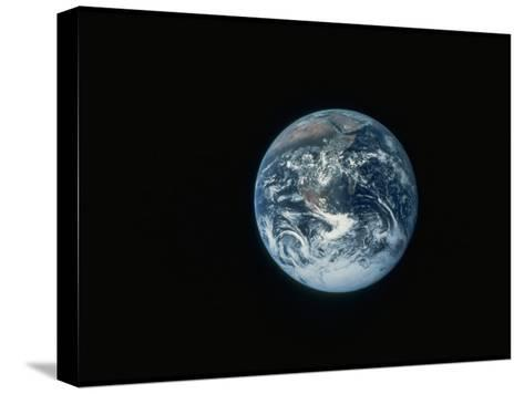 Full Earth as Seen from Space Aboard the Apollo 17--Stretched Canvas Print