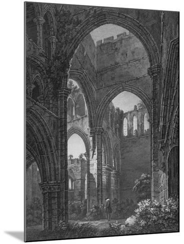 Engraving of Lanercost Priory Founded by Robert de Vallibus in 1116--Mounted Photographic Print