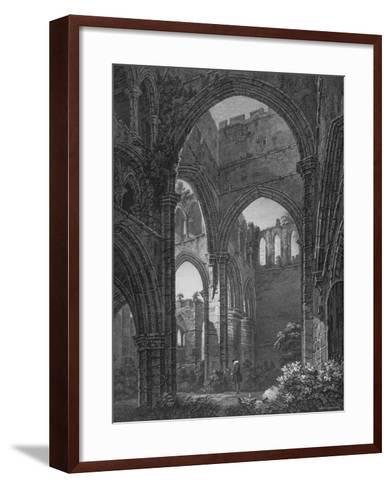 Engraving of Lanercost Priory Founded by Robert de Vallibus in 1116--Framed Art Print