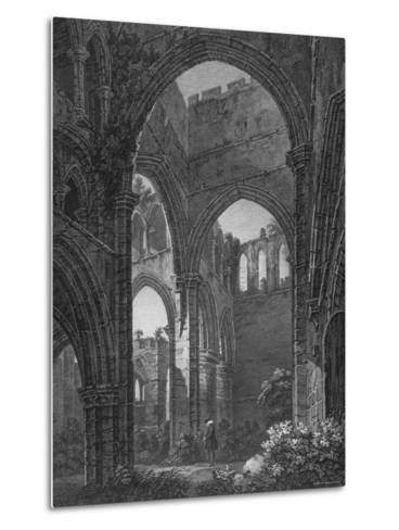 Engraving of Lanercost Priory Founded by Robert de Vallibus in 1116--Metal Print