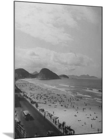 Copacabana Beach-Thomas D^ Mcavoy-Mounted Photographic Print
