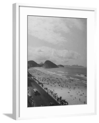 Copacabana Beach-Thomas D^ Mcavoy-Framed Art Print