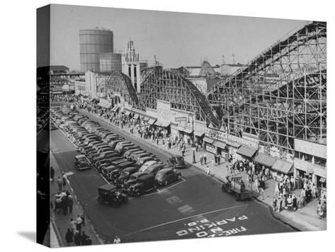 Coney Island-Ralph Morse-Stretched Canvas Print