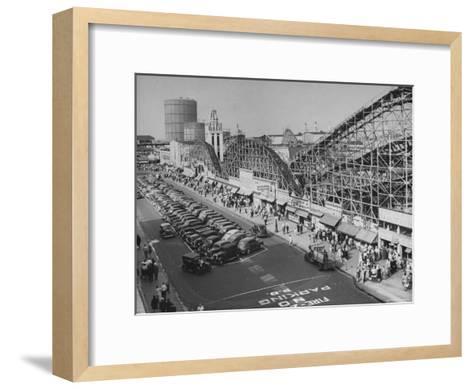 Coney Island-Ralph Morse-Framed Art Print