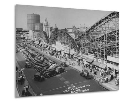 Coney Island-Ralph Morse-Metal Print
