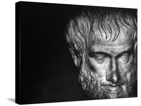 Head of Aristotle-Gjon Mili-Stretched Canvas Print