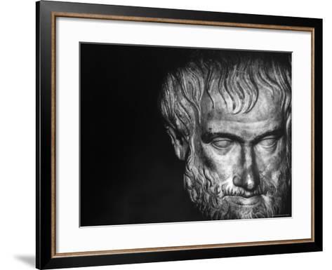 Head of Aristotle-Gjon Mili-Framed Art Print
