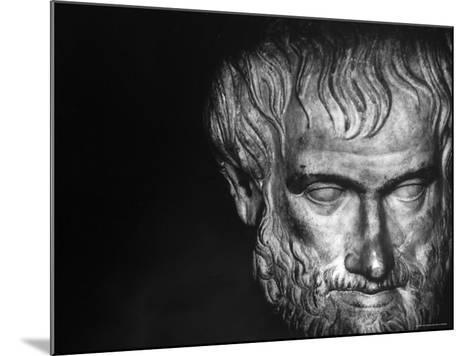 Head of Aristotle-Gjon Mili-Mounted Photographic Print