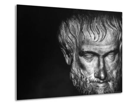 Head of Aristotle-Gjon Mili-Metal Print