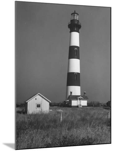 Bodie Island Light House, 6 Miles South of Nag's Head-Eliot Elisofon-Mounted Photographic Print
