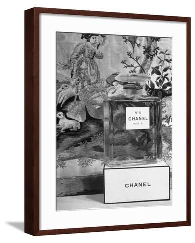 Close Up of Perfume Bottle-Hans Wild-Framed Art Print