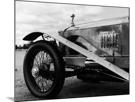 Photograph of a 1930 Rolls-Royce Phantom II Mulliner Continental Tourer, c.1958-Walker Evans-Mounted Photographic Print