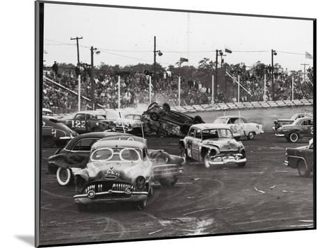 Action at a Demolition Derby-Henry Groskinsky-Mounted Photographic Print