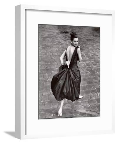 Add a Pearl Week Paris Collection-Loomis Dean-Framed Art Print