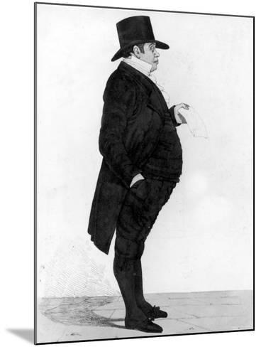 Portrait of British Banker Nathan Meyer Rothschild--Mounted Photographic Print