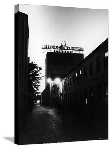 Metro Goldwyn Mayer Film Studios--Stretched Canvas Print