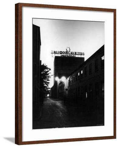Metro Goldwyn Mayer Film Studios--Framed Art Print