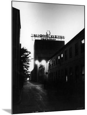Metro Goldwyn Mayer Film Studios--Mounted Photographic Print