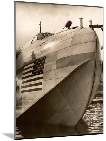 Pan Am Clipper Seaplane-George Strock-Mounted Photographic Print
