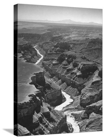 View of the Grand Canyon National Park-Frank Scherschel-Stretched Canvas Print
