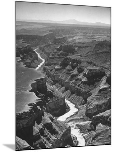 View of the Grand Canyon National Park-Frank Scherschel-Mounted Photographic Print