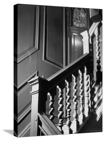 Staircase in the Metropolitan Museum of Art-Alfred Eisenstaedt-Stretched Canvas Print