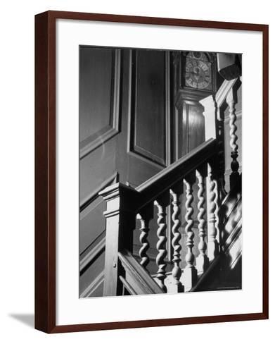 Staircase in the Metropolitan Museum of Art-Alfred Eisenstaedt-Framed Art Print