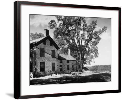 Old Brick Farmhouse-Alfred Eisenstaedt-Framed Art Print
