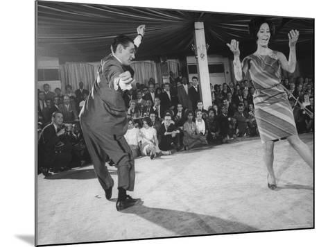 """People Dancing the """"Pachanga""""-Yale Joel-Mounted Photographic Print"""