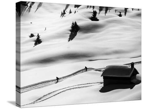New Ski Resort-Loomis Dean-Stretched Canvas Print