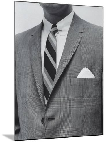 Model Wearing Proper Fashion Suit-Nat Farbman-Mounted Photographic Print