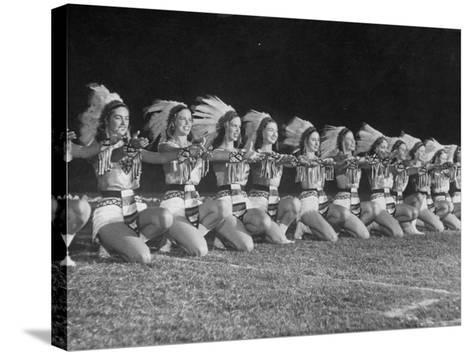 The Tyler Apache Belles of Tyler Junior College-Joe Scherschel-Stretched Canvas Print