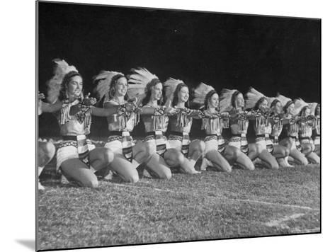 The Tyler Apache Belles of Tyler Junior College-Joe Scherschel-Mounted Photographic Print