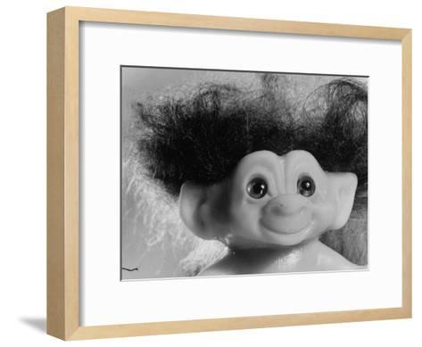 "Three Inch Troll Doll Called ""Dammit"" Sold by Scandia House Enterprises-Ralph Morse-Framed Art Print"