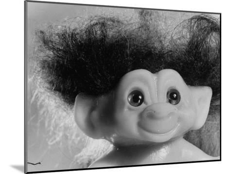 """Three Inch Troll Doll Called """"Dammit"""" Sold by Scandia House Enterprises-Ralph Morse-Mounted Photographic Print"""