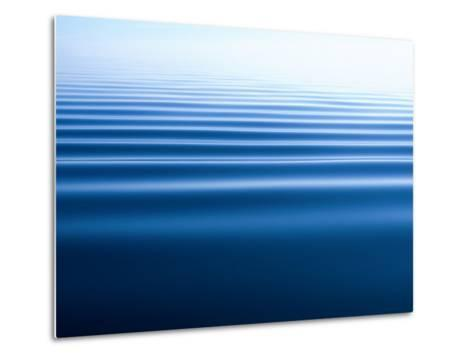Small Gentle Ripples Move Across the Calm Surface of the Arctic Ocean-Norbert Rosing-Metal Print