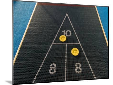 Shuffleboard Game on a Cruise Ship-Todd Gipstein-Mounted Photographic Print