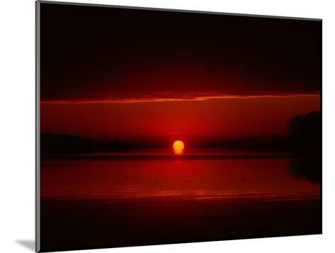 A View of the Morning Sun Rising over the Chesapeake Bay-Medford Taylor-Mounted Photographic Print