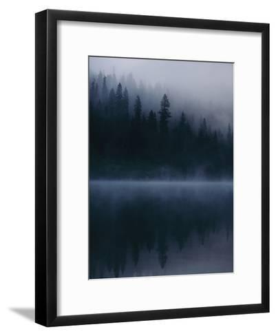 Scenic View Near Mount Shasta-Michael Nichols-Framed Art Print