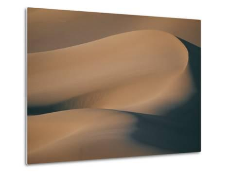 A Close View of Sand Dunes-Bill Curtsinger-Metal Print