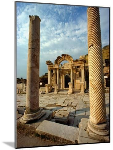 The Remains of Hadrians Gate at Ephesus-Gordon Gahan-Mounted Photographic Print