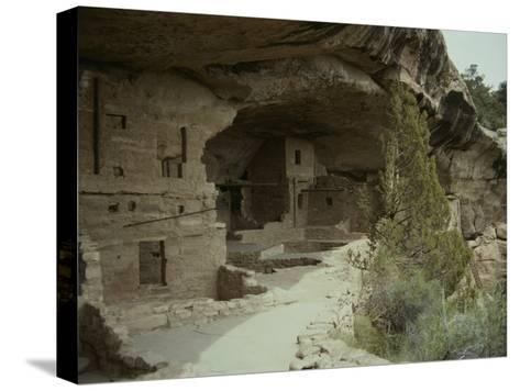 Anasazi Ruins at Mesa Verde National Park-Stacy Gold-Stretched Canvas Print