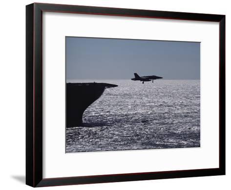 U.S.S. Coral Sea Aircraft Carrier, Flight Operations-Medford Taylor-Framed Art Print