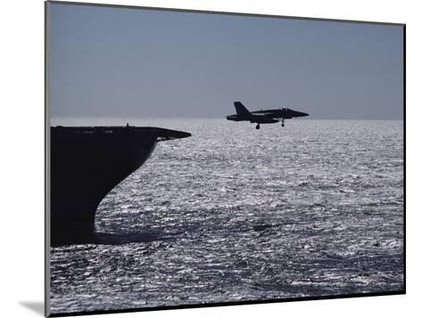 U.S.S. Coral Sea Aircraft Carrier, Flight Operations-Medford Taylor-Mounted Photographic Print