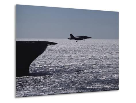 U.S.S. Coral Sea Aircraft Carrier, Flight Operations-Medford Taylor-Metal Print