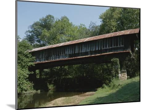A Covered Bridge in Rural Alabama-Medford Taylor-Mounted Photographic Print